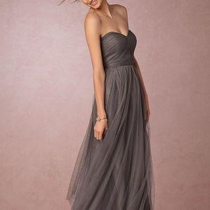 Jenny Yoo Annabelle Grey Bridesmaid